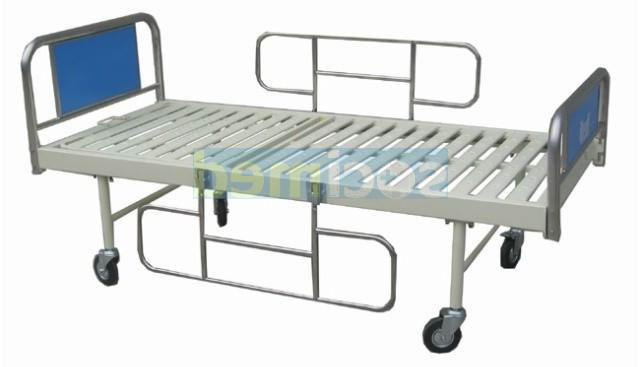 Lit simple d'hospitalisation en INOX L 0045